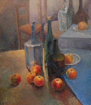 Stilleven met appels en vazen - Pieter Ringoot van Galerie Ringoot