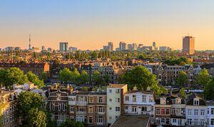 Amsterdam zuid skyline