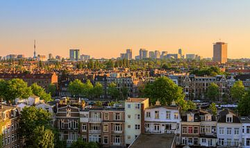 Amsterdam zuid skyline sur Dennis van de Water
