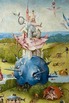 Jeroen Bosch. Tuin der Lusten - detail, 1490 sur