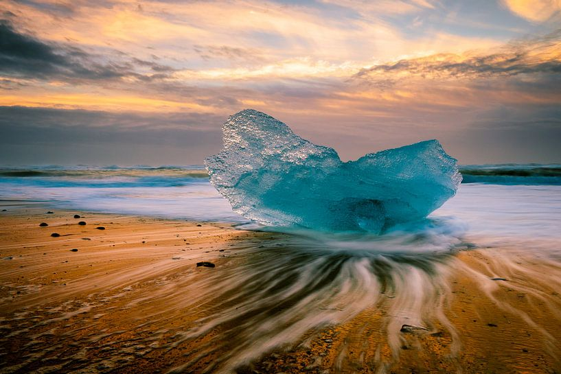 Jökulsárlón Eislagune von Edwin van Wijk
