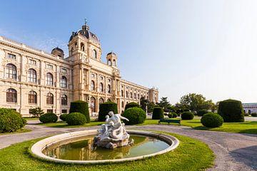 Natuurhistorisch museum in Wenen van Werner Dieterich