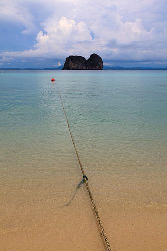 Zeezicht Thailand van