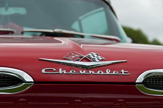 Chevrolet Impala Convertible  (1959) van Patrick Siemons