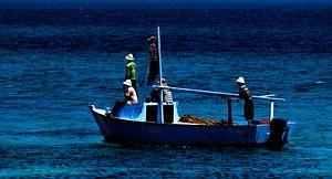 Vissersboot Rode Zee