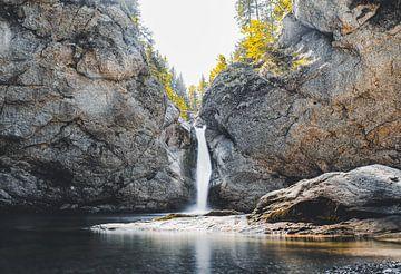 Buchenegger Wasserfall von Eduard Martin