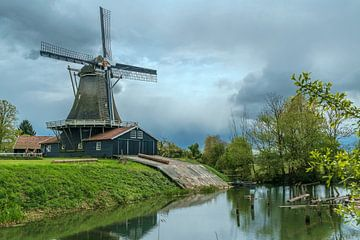 Bolwerksmolen Deventer van Han Kedde