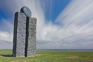 Statuen aus dem Meer - Inselbewohner von Albert Wester Terschelling Photography