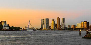 skyline rotterdam van Arend van der Salm