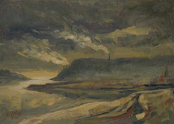 Abendlicht Sint Pietersberg von Nop Briex