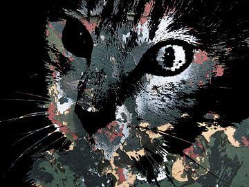 Katzenkunst: Tarnkatzen 2A