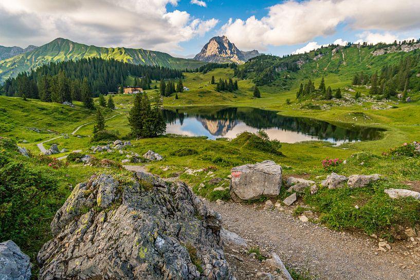 Bijou naturel du Körbersee dans le Lechquellengebirge sur MindScape Photography