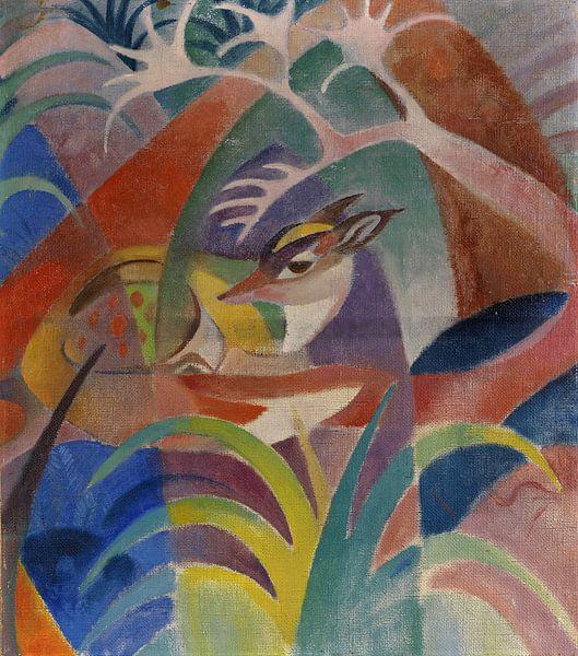 Der kranke Fuchs, JEAN BLOÉ NIESTLÉ, Um 1920 von Atelier Liesjes