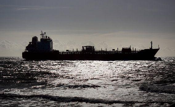 Vrachtschip Zoutelande