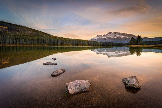 Two Jack Lake van Arnaud Bertrande