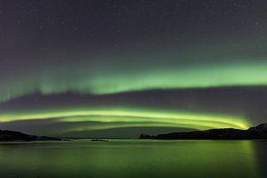 Noorderlicht over Håja
