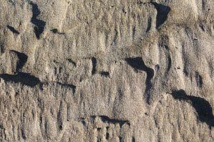 structuur zand van