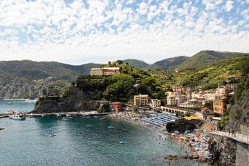 Monterosso al Mare, Cinque Terre, Italië van Gaby Fotografie