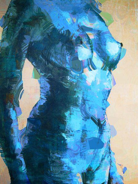 Cool blue lady. von Alies werk