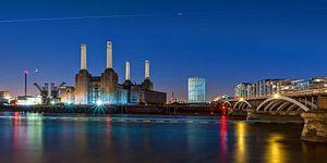 Better days... Battersea Power Station | Londen van