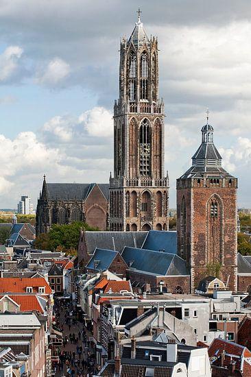 Domtoren, Buurkerk en de Steenweg.