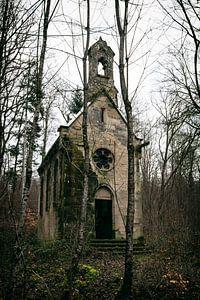 Verlassene Kapelle in Frankreich
