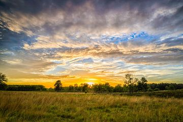 Sonnenuntergang über dem Teut von Johan Vanbockryck