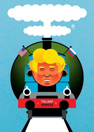 Trump Express. van