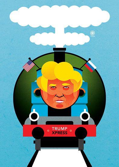 Trump Express. van TRIK © PRINT