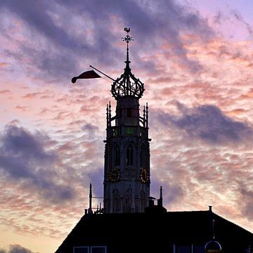 Bakenessertoren, Haarlem (2020) van Eric Oudendijk