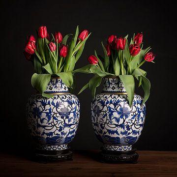 Rot, weiß und blau von Coby Bergsma