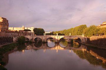 Rome de Ponte Sant'Angelo van Wendy Hilberath