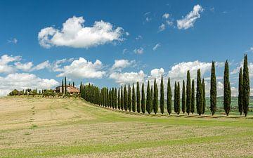 Landhuis in Toscane van Michael Valjak