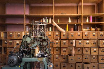 usine de chaussettes abandonnée sur Kristof Ven