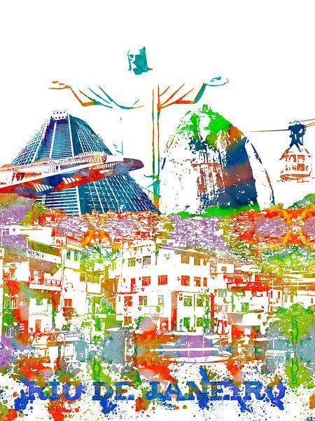 Rio de Janeiro van Printed Artings