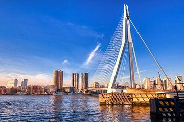 HDR Rotterdam ERasmusbrug von W J Kok