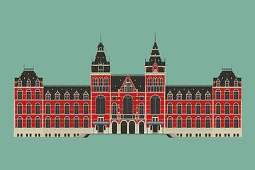 Rijksmuseum Amsterdam von Yuri Koole