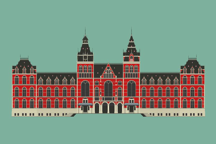 Rijksmuseum Amsterdam van Yuri Koole