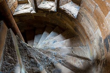 Schotland, Linlithgow Palace van Cilia Brandts