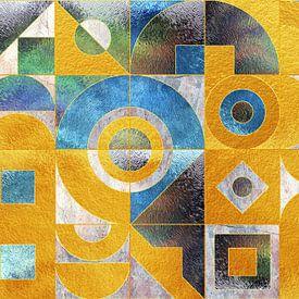 Geometrische XXXXXVI van Art Design Works
