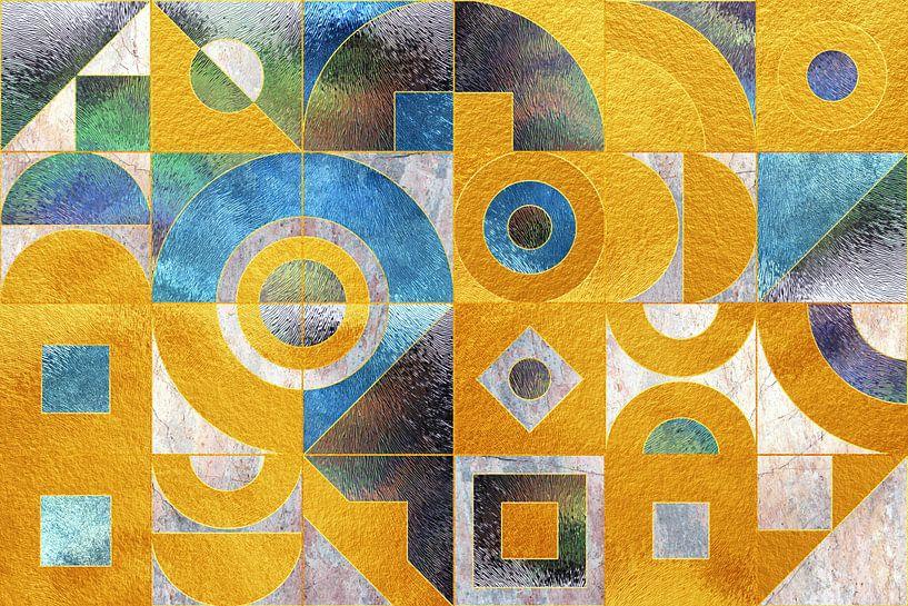 Geometrisch XXXXXXXVI von Art Design Works