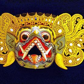 Masque Barong sur Eduard Lamping