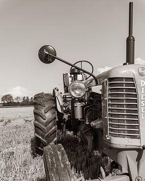Oude Tractor van de Utregter Fotografie