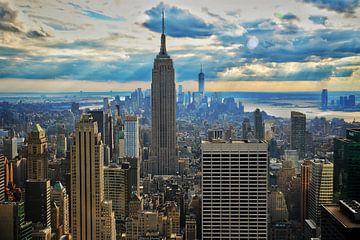 Manhattan, New York van Vladimir Kozich