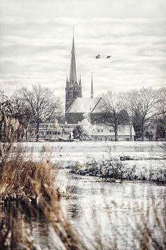 Sneeuwlandschap  in Markdal - Breda