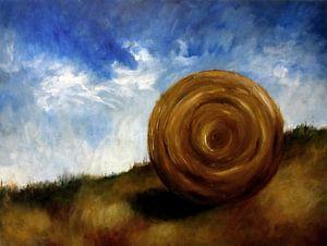"""Impressionistisch schilderij """"Op Het Randje"""""""
