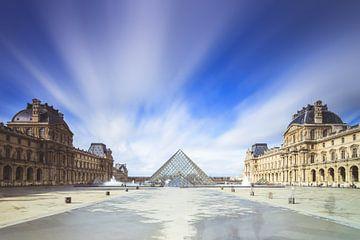 Louvre lange Belichtung von Dennis van de Water