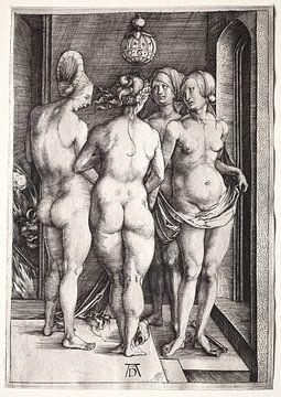 De vier heksen (vier naakte vrouwen), Albrecht Dürer van De Canon