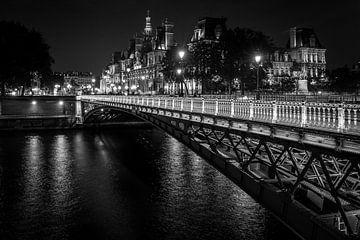 Pont D'arcole Parijs van Stad in beeld
