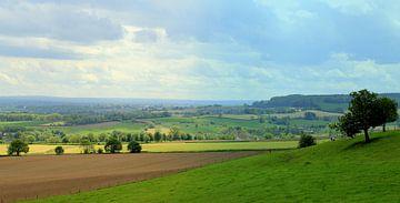 Limburgs landschap. van